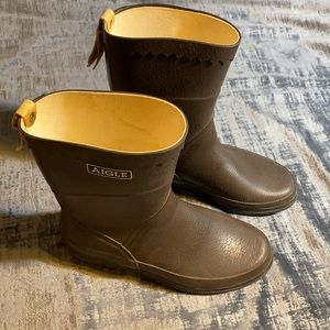 FRENCH AIGLE BOOTS 'ANTROPOLOGIE' 💖